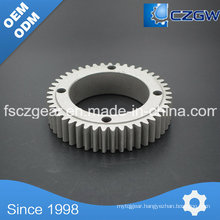 Aluminum Customized Transmission Gear Spur Gear for Various Machinery