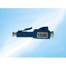 Atenuador de fibra óptica de LC / Upc monomodo macho a hembra
