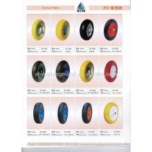 10 дюймов PU пены заполнены колесо для рука грузовик/Ручная тележка