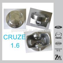 Buen rendimiento GM CRUZE 1.6 pistón del motor del coche conjunto hecho en China