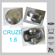 Good performance GM CRUZE 1.6 car engine piston set made in China