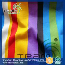 Transfert de chaleur Tissu imprimé imprimé 240cm de largeur