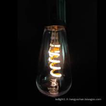 Guirlande lumineuse à filament flexible ST40 Vintage