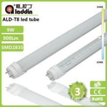 3 Years Warranty 600mm t8 led tube 9w High Brightness CE RoHS