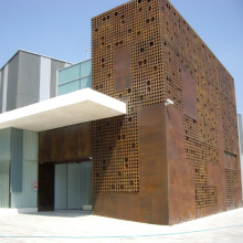 Decorative Corten Steel Cladding Panels