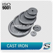Standard-Eisen-Einzelgewichtsplatten