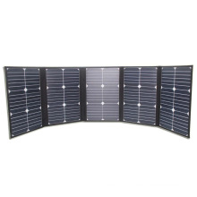 100W High Conversion Factory Wholesale Price Folding Portable Sunpower Solar Panel