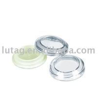 Única cor redonda sombra de olho caso embalagem cosmética