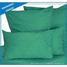 Color sólido Color verde Lecho de algodón