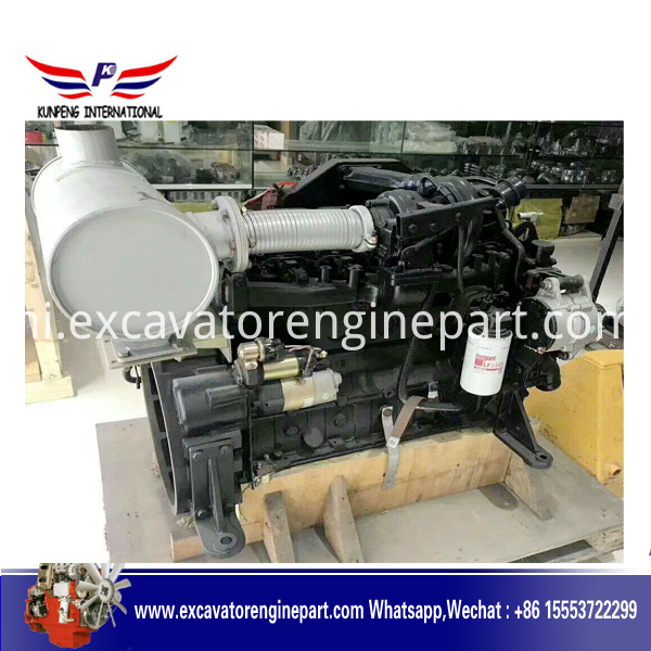 Yanmar diesel engine for min excavator