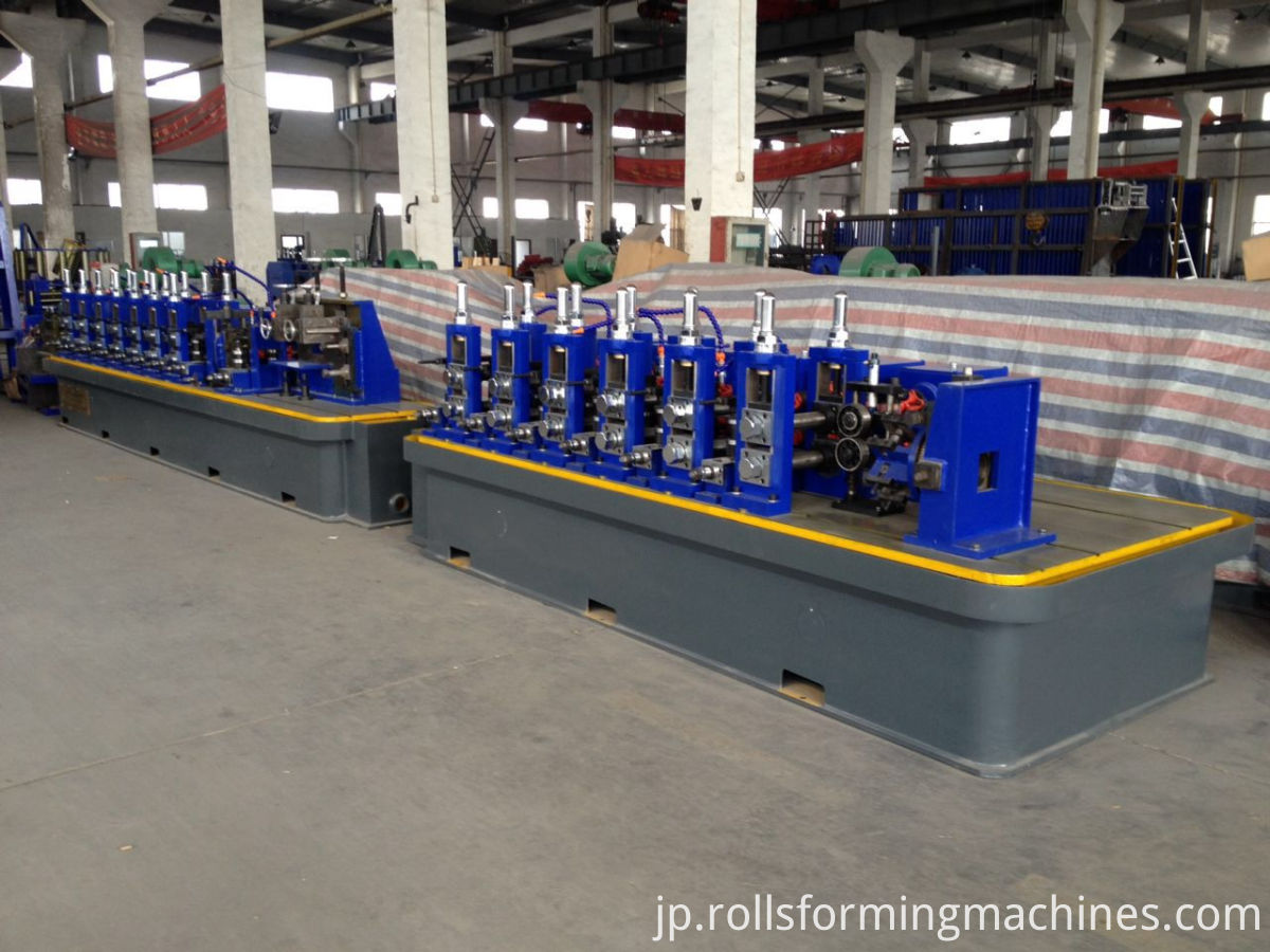 tube roll forming machine