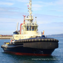 Cylindrical and D Shape Tugboat Rubber Fender