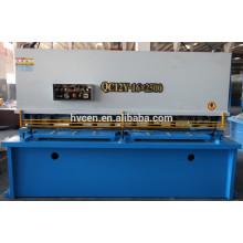 Machine de cisaillement de métaux minces / machine de cisaillement hydraulique