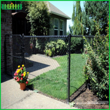 Low cost security square wire mesh chain link fence