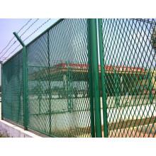 Valla de malla expandida utilizada para la protección (PVC)