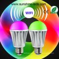 Bluetooth/WiFi/Remote RGBW 7W E27 LED Lamp