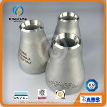 Ajuste de soldadura de extremo excéntrico del reductor de acero inoxidable (KT0219)