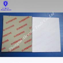Super feine Schleifschwamm für Telefon 140 * 115 * 5mm Aluminiumoxid Korn P500-2000