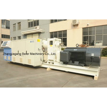 Máquina eficiente plástica da extrusora de único parafuso de Brd 38d da tubulação do PE / PP / HDPE / PP-R