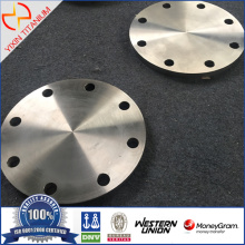 GR2 Titanium Blind Flange as per EN1092-1
