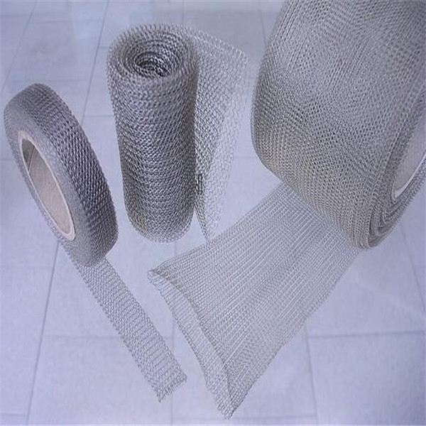 coated knitted wire mesh