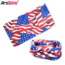 Pañuelos de buena calidad con bandera estadounidense