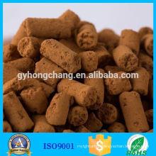 Iron oxide desulfurization for Biogas desulfurization