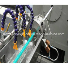 Tuyau / tuyau de douche renforcés par fibre de PVC en plastique faisant la machine