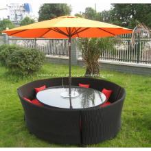 Conjunto de móveis de mesa de café ao ar livre de alta qualidade