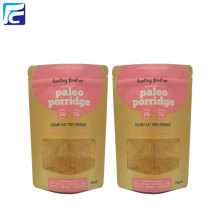 Banana Chips Kraft Paper Packaging Bags Wholesale