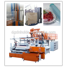 Full Auto High Rewinding Speed Stretch Film Machine