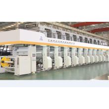 Rotationstiefdruckmaschine mit elektronischem Wellenantrieb von 300m / min