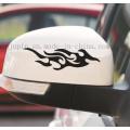 Custom Pet Rearview Mirror Motorcycle Car Decals Sticker