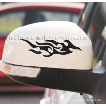 Etiqueta feita sob encomenda dos decalques do carro da motocicleta do espelho de Rearview do animal de estimação