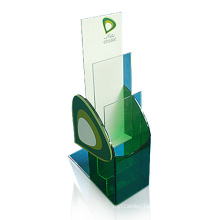 Fashionable Acrylic Leaflet Stand, Customized Lucite Leaflet Holder