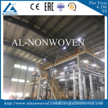 A.L Non woven Fabric Making Machine With S/SS/SSS/SMS/SMMS Model