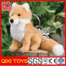 2014 brinquedo novo brinquedo raposa de pelúcia mini chaveiro de raposa de pelúcia