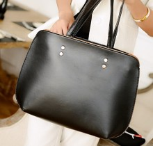 2015 wholesale cheap lady pu leather shoulder bag two in one China alibaba