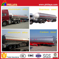 Stainless Steel Semi Trailer Storage Tank