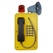 Hot Sell Paging Outdoor Telephone, 15W/30W Speaker Phone, Loud Paging Broadcast Handset Phone
