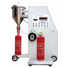 Dry Powder Fire Extinguisher Filling Machine Gfm8-2