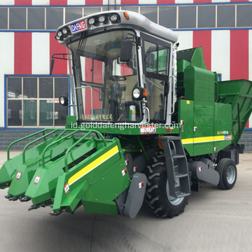 Self-propelled manis Jagung Combine Cutter mesin pemilih