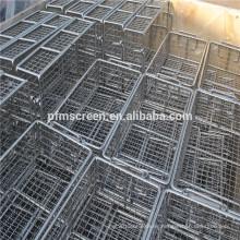201,304,316,316L cocina de acero inoxidable que cocina la cesta de la malla de alambre