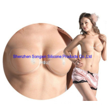 Hot Sell Women Sexy Nude Invisible Cotton Silicone Bra