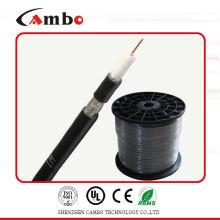 Cable de circuito de circuito cerrado cable de cobre RG6