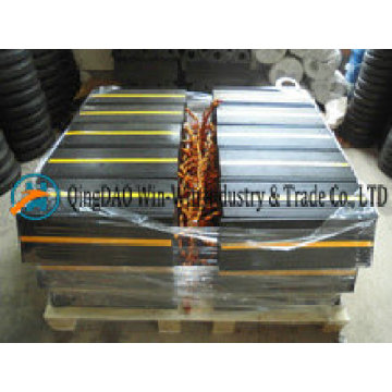 Calzos de rueda de goma de avión de 450 mm