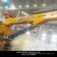 4T/15M knuckle boom marine deck crane for sale