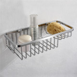 simple style stainless steel bathroom baskets8805