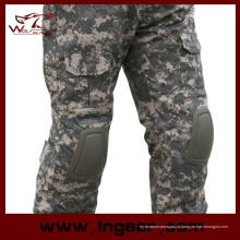 Airsoft geração 2 calças de combate tático com joelho almofada calças calças táticas
