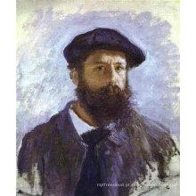 Trabalhos famosos da pintura a óleo do artista de Monet